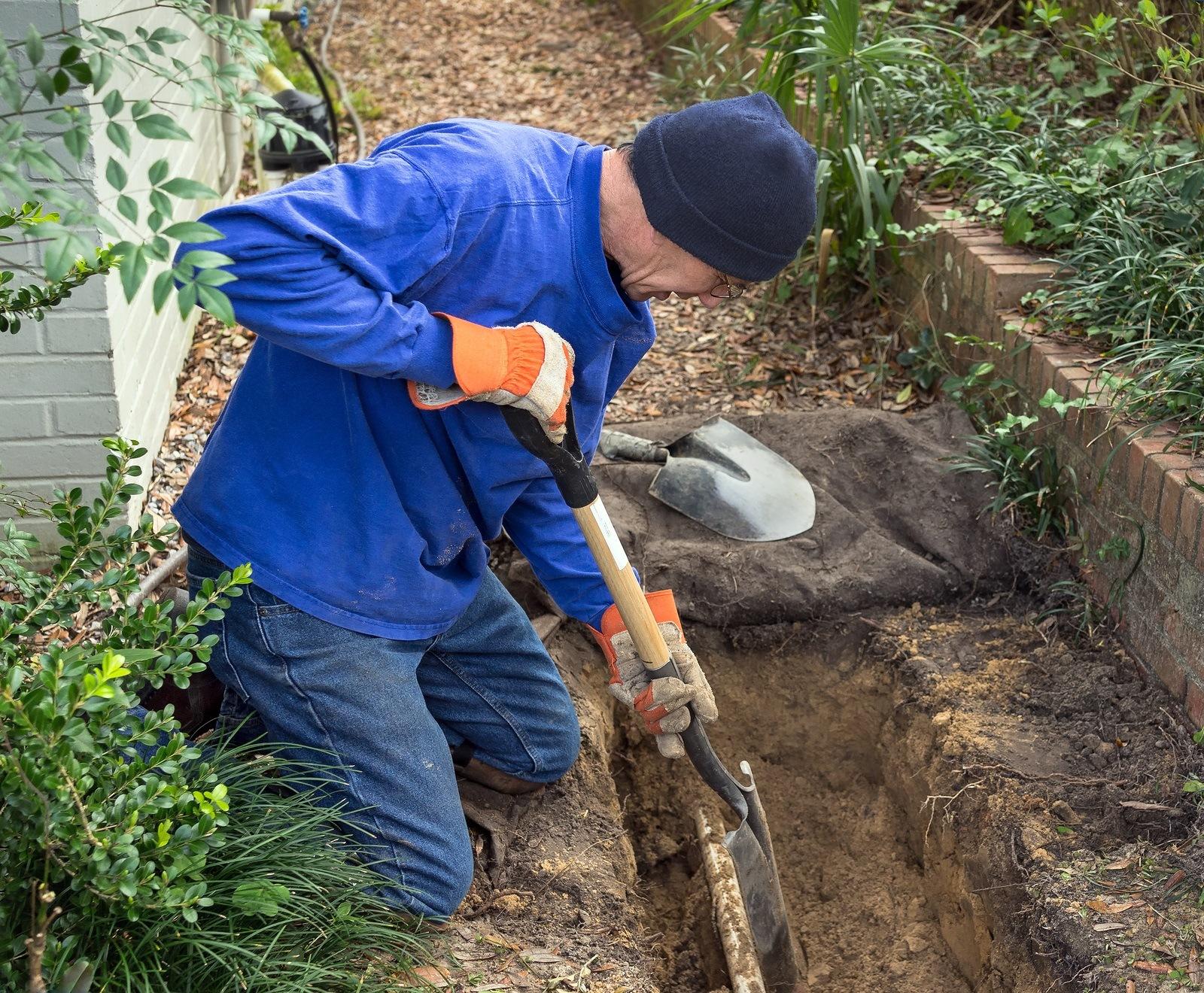 Making Lawn Drainage