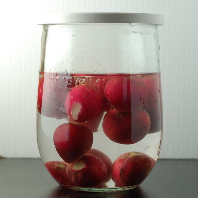 Store Radishes in Water