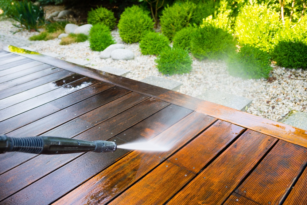 Cleaning Decking