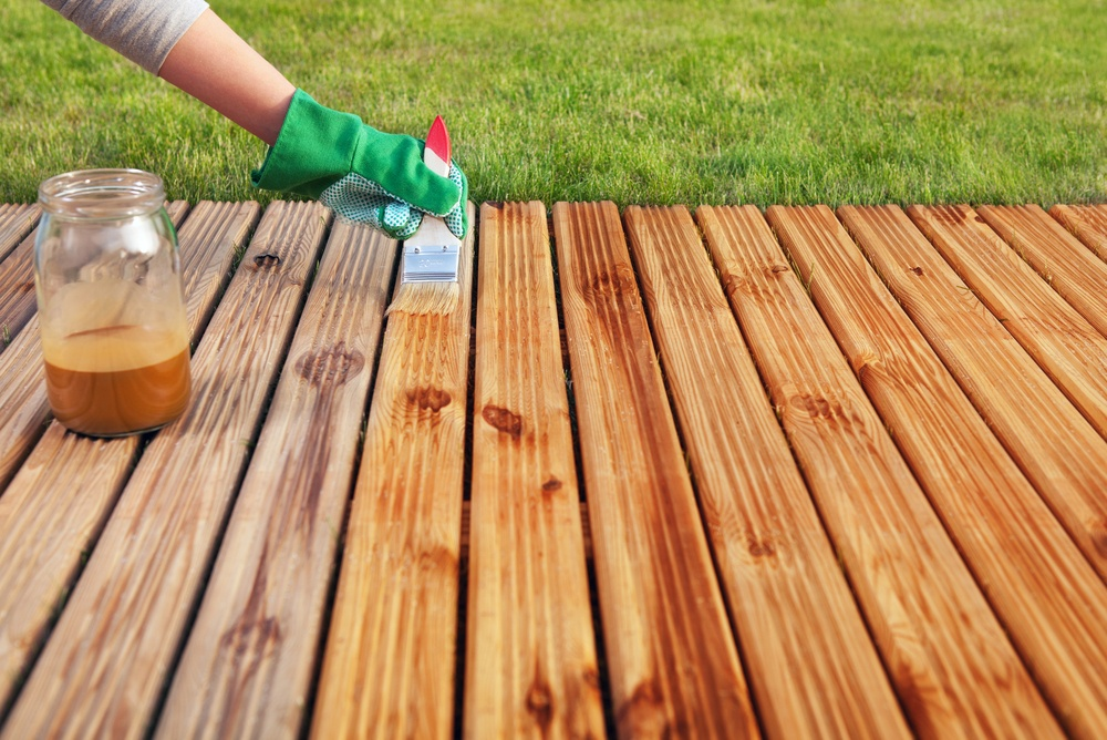Protecting Decking