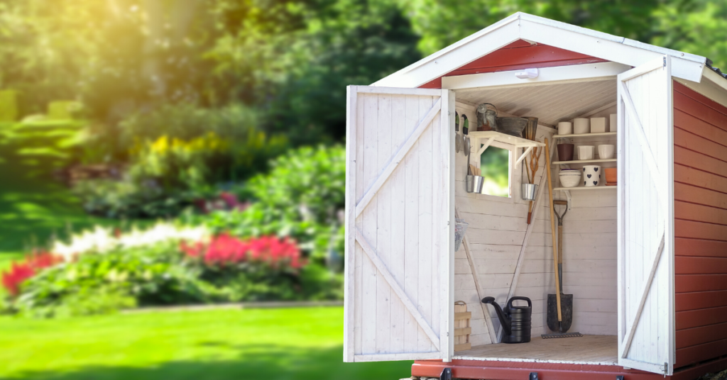 types-of-garden-sheds
